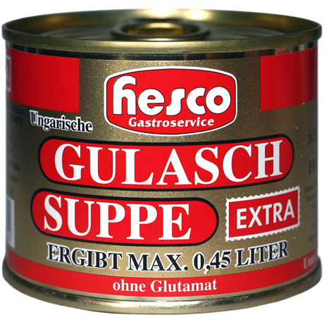 Ung. Gulaschsuppe EXTRA