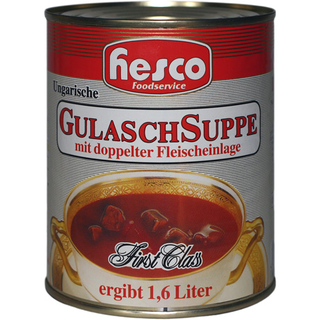 Ung. Gulaschsuppe Royal
